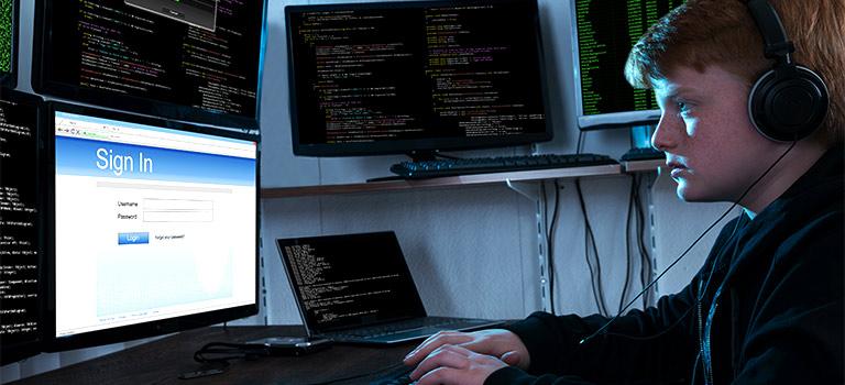 Inexperienced hackers