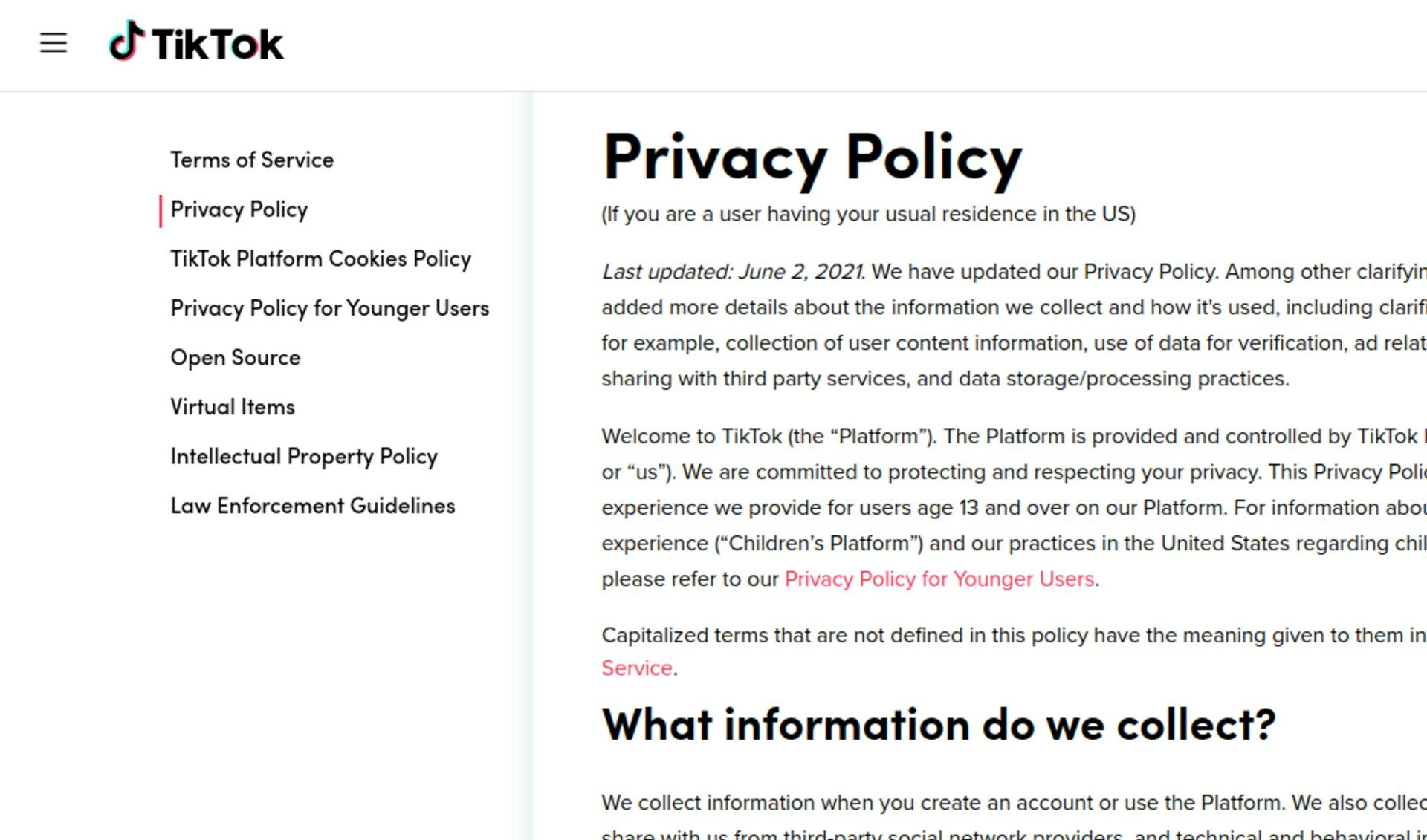 Tiktok's new privacy policy lets it collect your biometric data, including 'faceprints and voiceprints'
