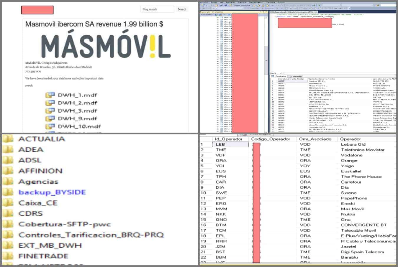 Spanish Telecom Giant MasMovil Hit by Revil Ransomware Attack
