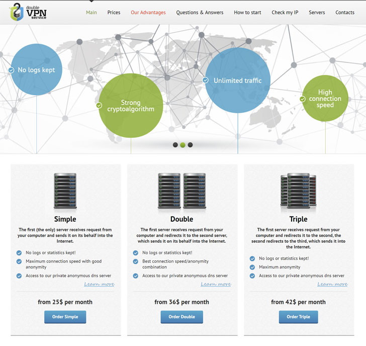 Authorities Seize DoubleVPN Service Used by Cybercriminals